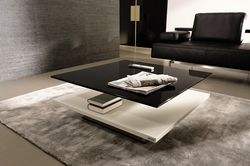 Modern Black Glass Coffee Table Table And Estate definitely with regard to Unique Black Glass Coffee Table (Image 16 of 30)