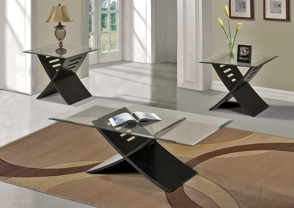 Modern Coffee And End Table Sets Table And Estate properly within Contemporary Coffee Table Sets (Image 13 of 20)