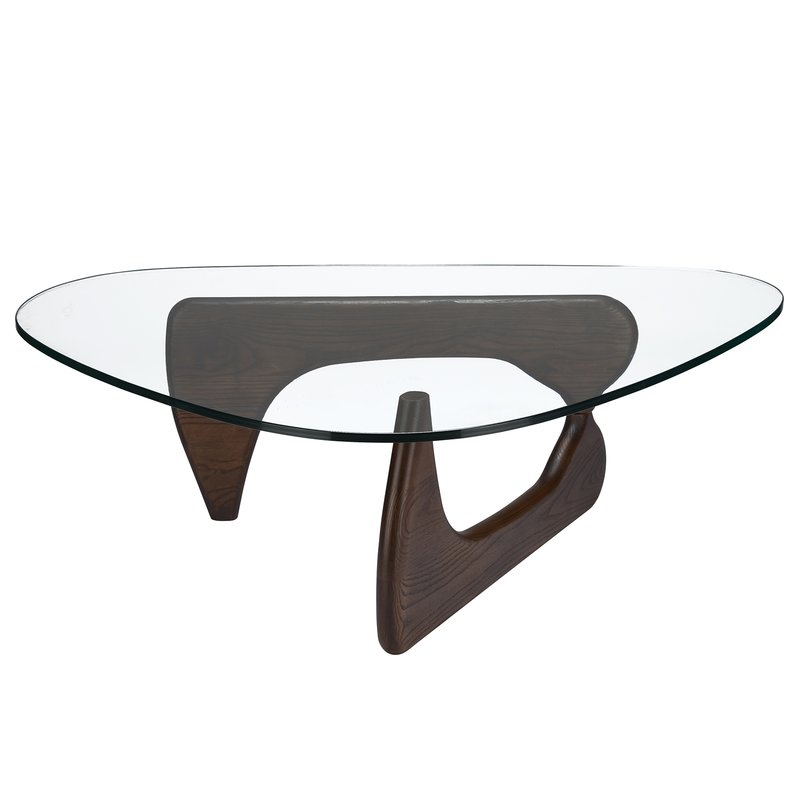 Modern Coffee Tables Allmodern clearly inside Contemporary Glass Coffee Tables  (Image 10 of 20)
