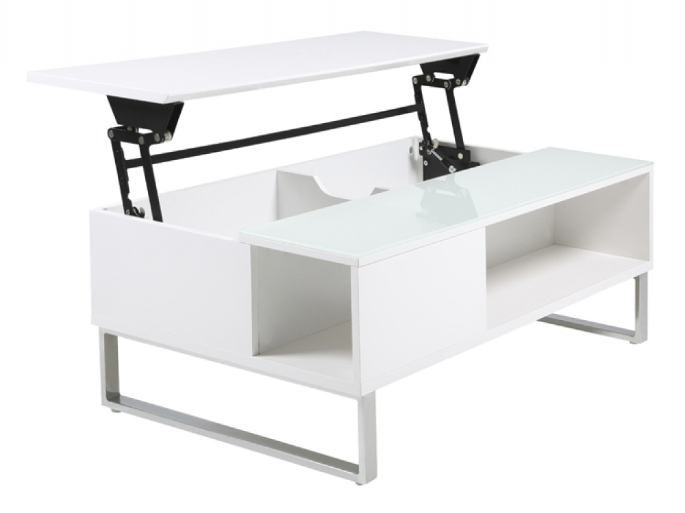 Modern Coffee Tables With Hidden Storage Fads Blogfads Blog nicely for White Coffee Tables With Storage (Image 10 of 20)