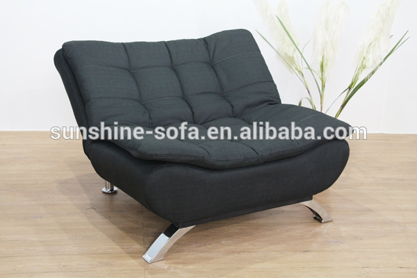 Modern Fabric Single Sofa Bed Chair Buy Modern Fabric Single Properly Intended For Single Chair Sofa Beds (View 10 of 20)