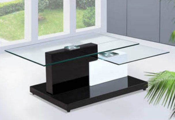 Modern Glass Coffee Table Bq350 Contemporary well within Contemporary Glass Coffee Tables (Image 11 of 20)