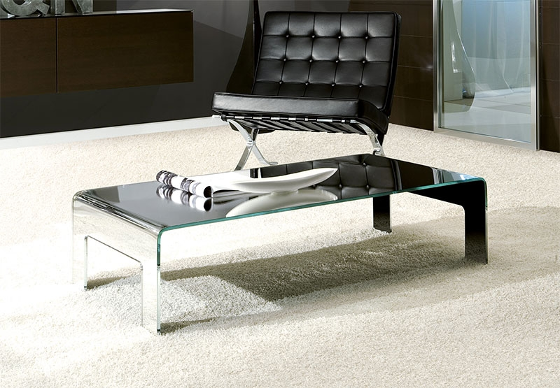 Modern Glass Coffee Tables Uk Table And Estate clearly intended for Floating Glass Coffee Tables (Image 13 of 20)