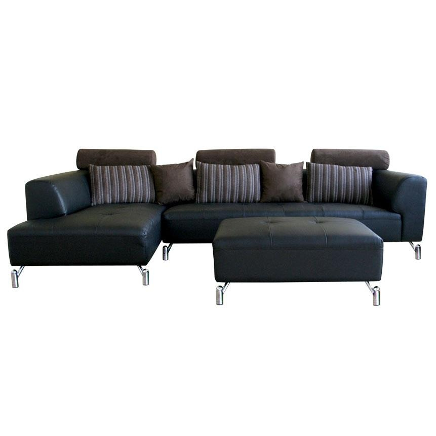 Modern Leather Sectional Sofa well within Sofas and Sectionals (Image 12 of 20)