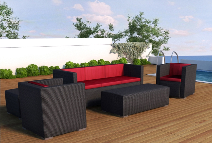 Modern Patio Furniture Sofas With Outdoor Sofas Image 18 Of 18 definitely regarding Cheap Patio Sofas (Image 9 of 20)