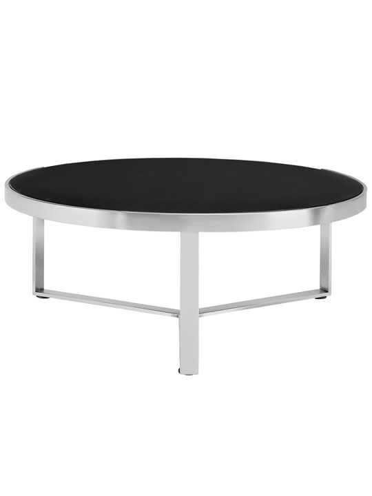 Modern Round Coffee Table For Elegant Look Chocoaddicts most certainly in Round Glass And Wood Coffee Tables (Image 10 of 20)