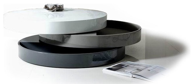 Modern Round Coffee Table With Storage Table And Estate clearly throughout Round Coffee Tables With Storages (Image 16 of 20)