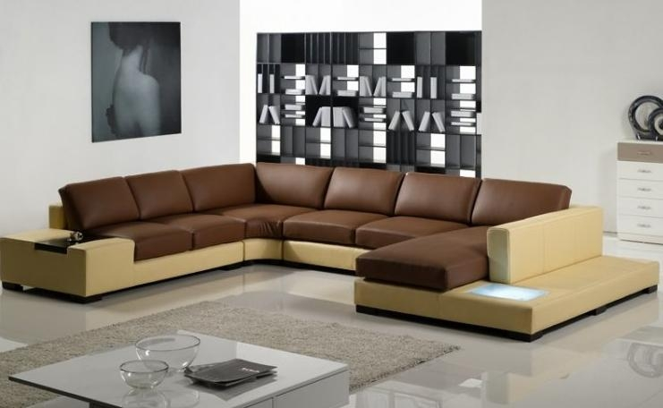 Modern Sectional Sofas And Corner Couches In Toronto Mississauga Properly With C Shaped Sofas (Photo 1 of 20)