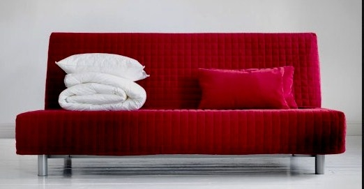 Modern Sofa Bed Sofa A Very Well With Regard To Red Sofa Beds Ikea (View 9 of 20)