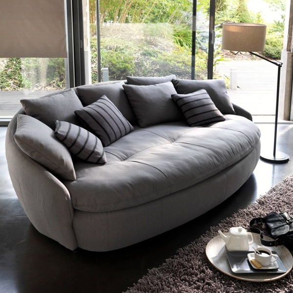 Modern Sofa Top 10 Living Room Furniture Design Trends properly intended for Comfortable Sofas and Chairs (Image 14 of 20)