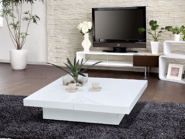 Modern White Lacquer Coffee Table Decoration Coffee Tables Guide very well with regard to Lacquer Coffee Tables (Image 14 of 20)