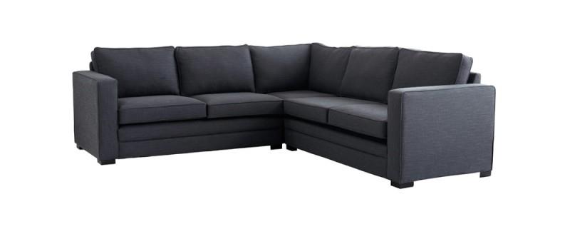 Modular Fabric Corner Sofa Living Room Pinterest Fabrics effectively intended for Fabric Corner Sofa Bed (Image 15 of 20)