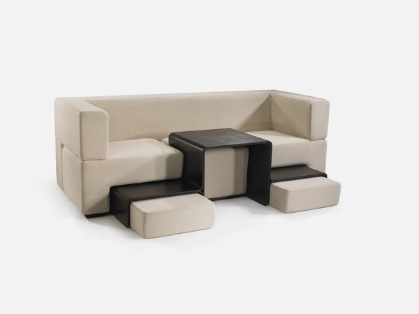 Modular Sofa Coffee Table And Footrest In One Furniture Slot definitely in Coffee Table Footrests (Image 12 of 20)