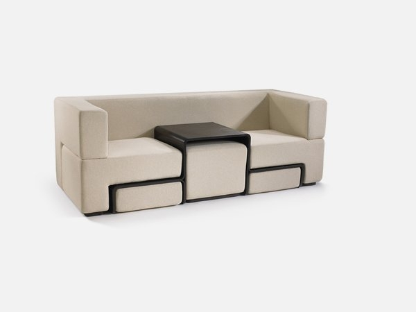 Modular Sofa Coffee Table And Footrest In One Furniture Slot Nicely With Regard To Coffee Table Footrests (View 13 of 20)