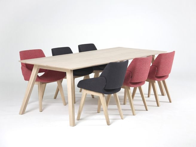 Monk Dining Table Prostoria good pertaining to Monk Chairs (Image 10 of 20)