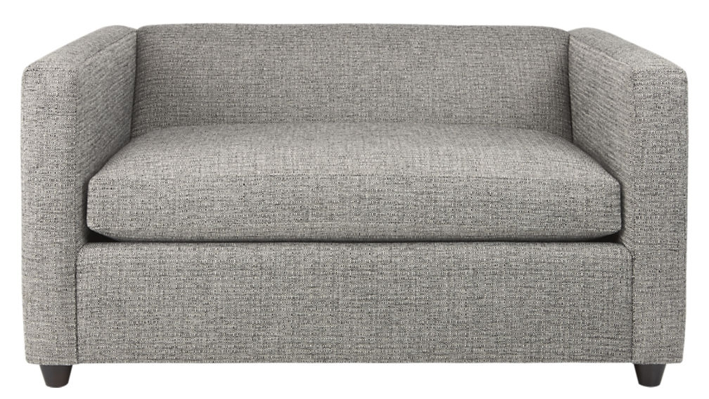 Movie Salt And Pepper Twin Sleeper Sofa Chair Cb2 perfectly pertaining to Loveseat Twin Sleeper Sofas (Image 13 of 20)