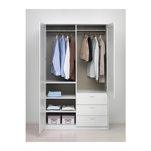 Musken Wardrobe With 2 Doors3 Drawers Ikea definitely with Wardrobes With Shelves And Drawers (Image 11 of 20)