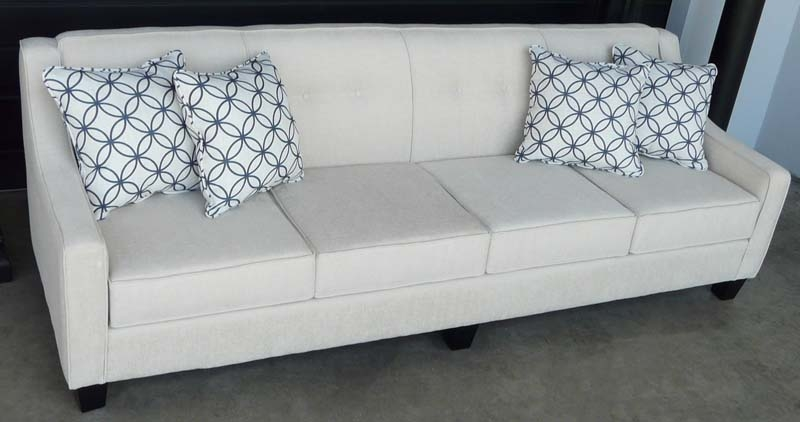 Natalie 4 Seater Sofa No Base Effectively With Four Seater Sofas (View 16 of 20)