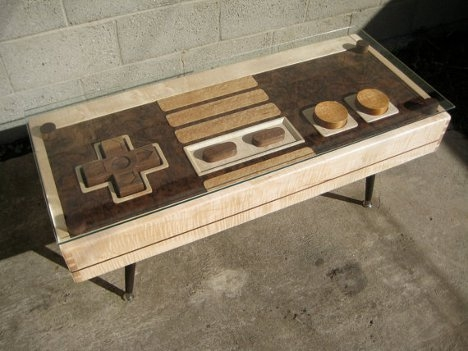 Nes Controller Coffee Table Is A Dual Functional Work Of Art nicely regarding Art Coffee Tables (Image 18 of 20)