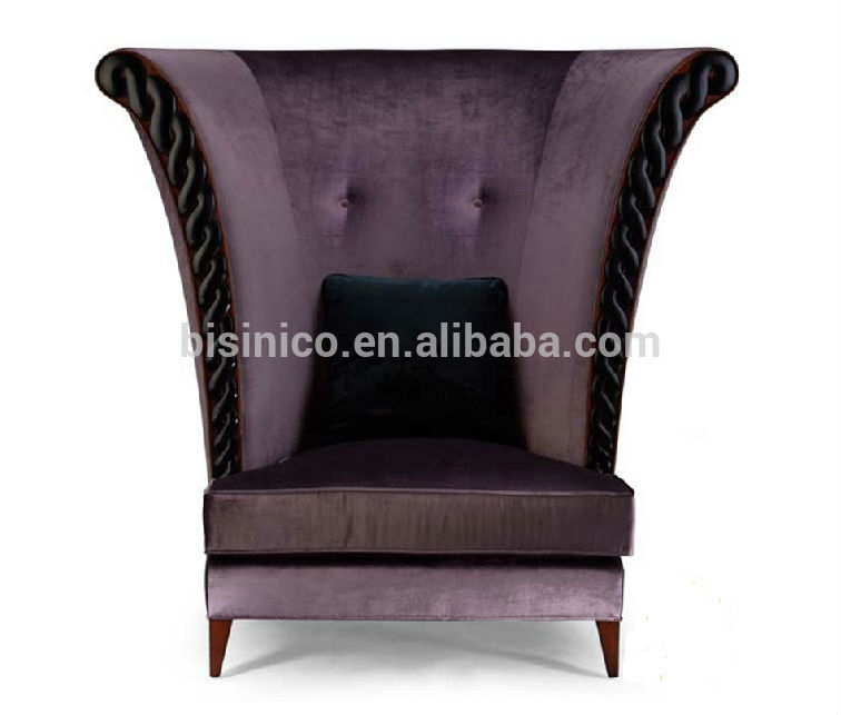 New Classical High Back Fabric Sofa Chairleisure Chairsingle perfectly with regard to High Back Sofas and Chairs (Image 15 of 20)