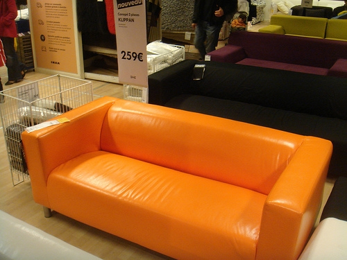 New Couch Rodrigo A Seplveda Schulz good throughout Orange IKEA Sofas (Image 16 of 20)