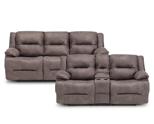 New Pocono Reclining Sofa Furniture Row clearly with regard to Recliner Sofa Chairs (Image 13 of 20)