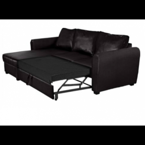 New Siena Fabric Corner Sofa Bed With Storage Charcoal nicely regarding Fabric Corner Sofa Bed (Image 17 of 20)