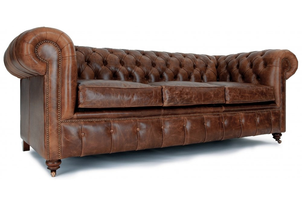 Nice Chesterfield Leather Sofa Chesterfield Custom Leather certainly in Small Chesterfield Sofas (Image 16 of 20)