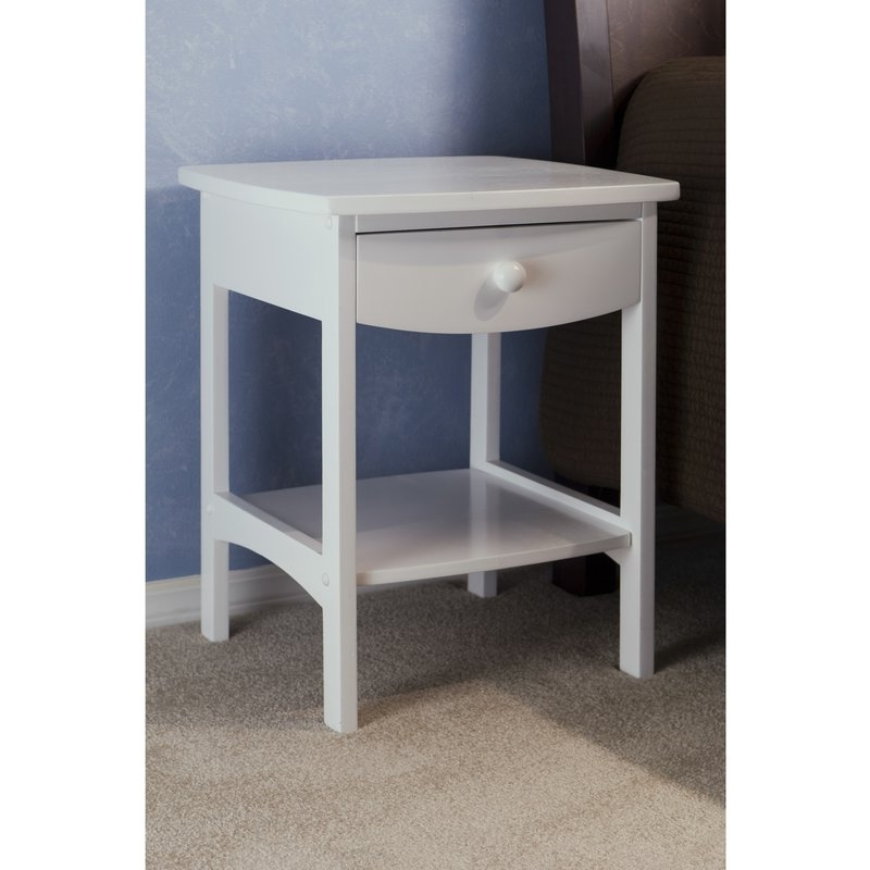 Nightstands Bedside Tables Youll Love Wayfair properly pertaining to Pine Wardrobe With Drawers And Shelves (Image 24 of 30)
