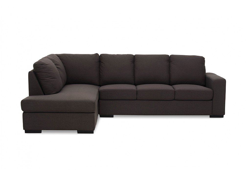Nixon Fabric 4 Seater Sofa With Chaise Super Amart House Ideas definitely throughout 4 Seater Couch (Image 17 of 20)