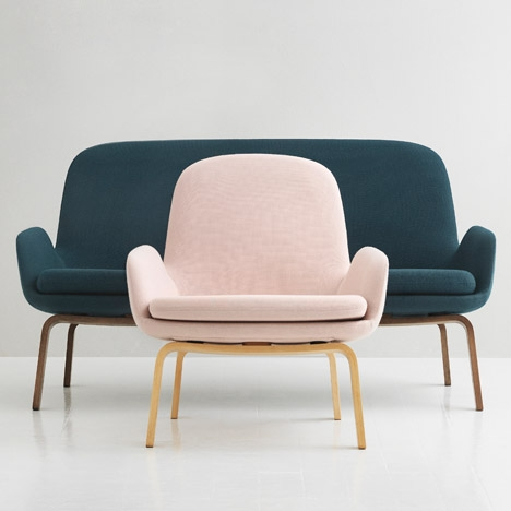 Normann Copenhagen Responds To Small Sofa Trend With Era good pertaining to Lounge Sofas And Chairs (Image 15 of 20)