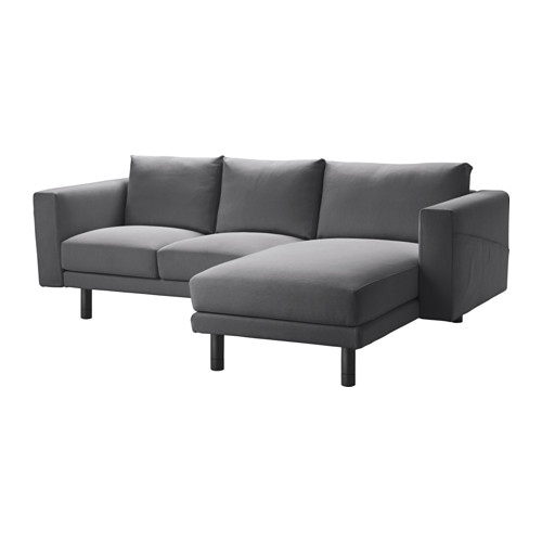 Norsborg Sectional 3 Seat Edum Dark Blue Birch Norsborg definitely in Sofas With Chaise Longue (Image 11 of 20)