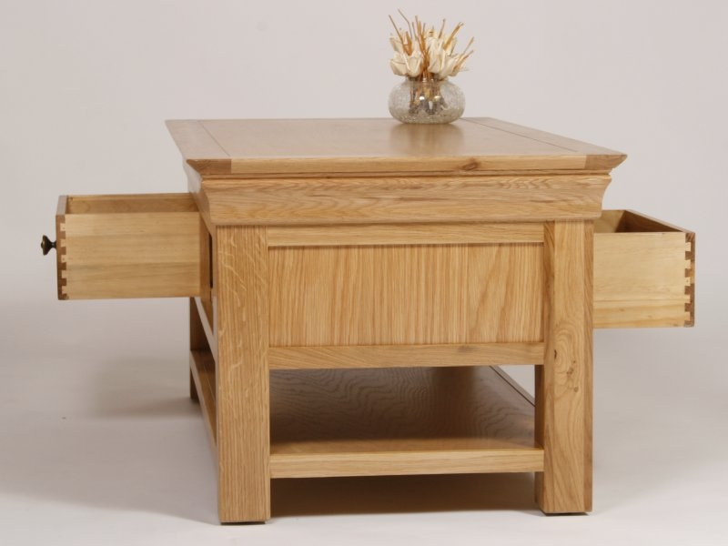 Oak Coffee Tables At The Best Prices In The Country Guaranteed most certainly for Quality Coffee Tables (Image 16 of 20)
