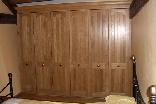 Oak Fitted Bedroom Furniture definitely in Fitted Wooden Wardrobes (Image 3 of 30)
