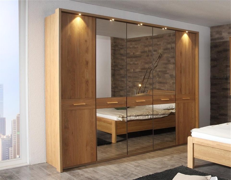 Oak Wardrobe Sliding Doors Solid Wood Wardrobe Solid Oak Framed good throughout Solid Wood Fitted Wardrobe Doors (Image 29 of 30)