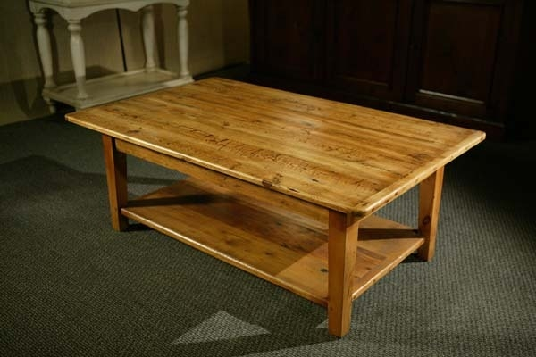 Old Wood Coffee Tables Lake And Mountain Home Well In Pine Coffee Tables (View 18 of 20)