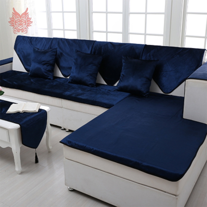 Online Get Cheap Blue Leather Sectional Aliexpress Alibaba Definitely With Slipcover For Leather Sectional Sofas (View 9 of 20)