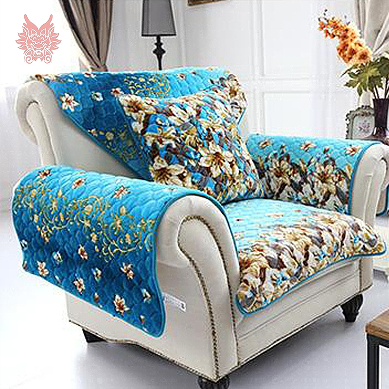 Online Get Cheap Blue Sofa Cover Aliexpress Alibaba Group effectively with Turquoise Sofa Covers (Image 10 of 20)