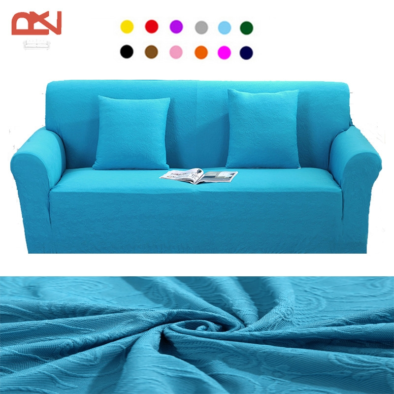 Online Get Cheap Jacquard Sofa Slipcover Aliexpress Alibaba perfectly with regard to Turquoise Sofa Covers (Image 12 of 20)