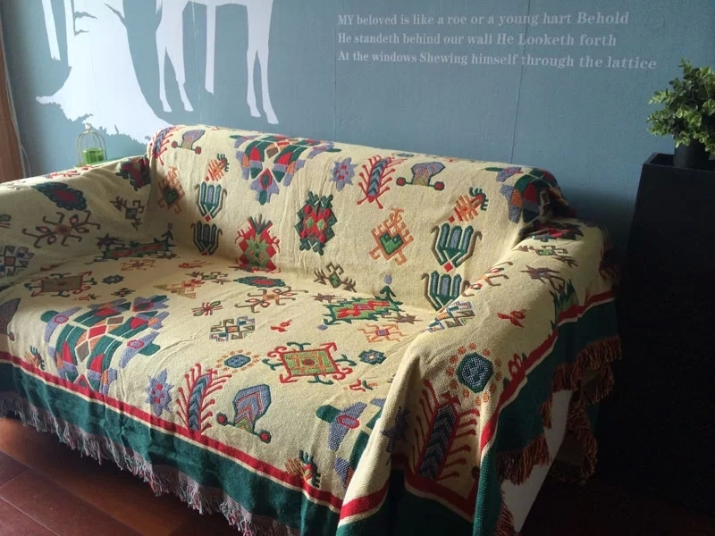 Online Get Cheap Vintage Throw Aliexpress Alibaba Group very well with regard to Cheap Throws For Sofas (Image 15 of 20)