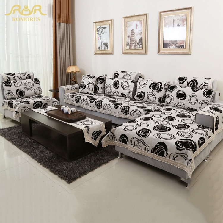 Online Get Cheap White Cotton Slipcovers Aliexpress Alibaba Certainly Within Contemporary Sofa Slipcovers (View 12 of 20)