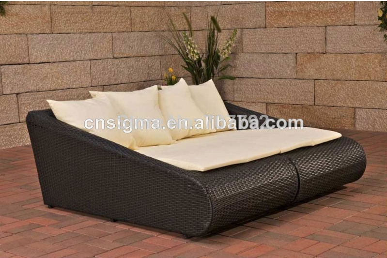 Online Get Cheap Wicker Sun Bed Aliexpress Alibaba Group clearly for Sofa Lounger Beds (Image 16 of 20)