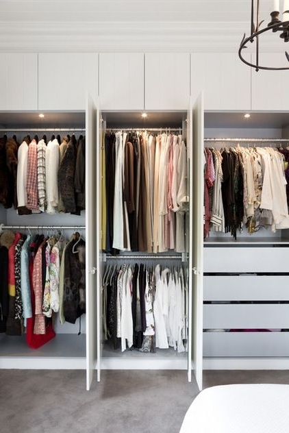 Options For Organising And Storing Clothes Tidylife perfectly regarding Double Rail Childrens Wardrobes (Image 8 of 30)