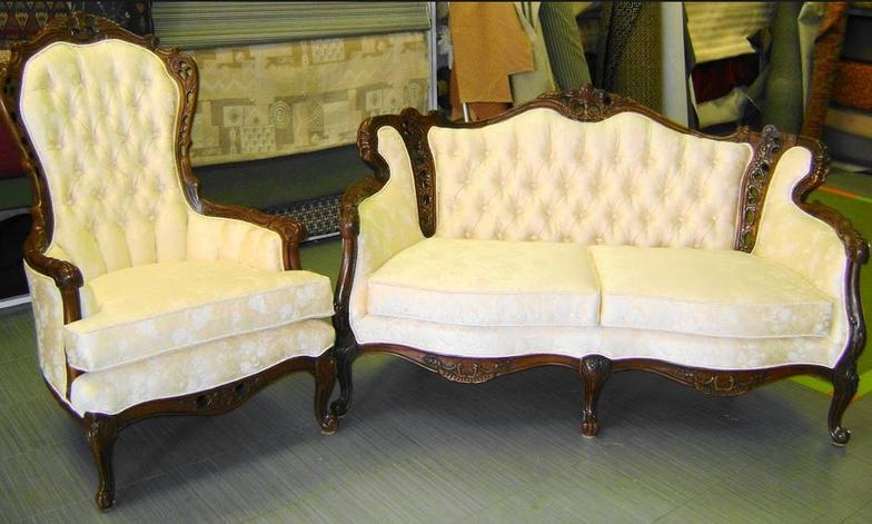 Oscars Upholstery Studio In Glendora Ca 91740 Quality Custom properly inside Antique Sofa Chairs (Image 19 of 20)