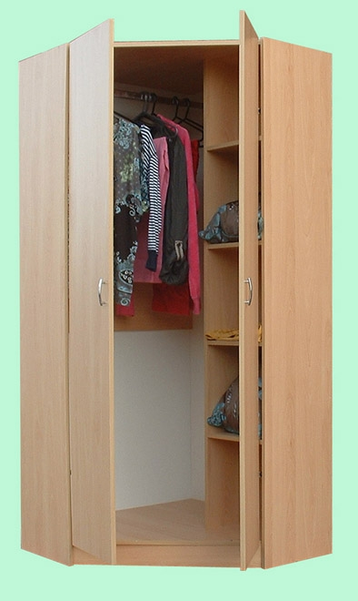 Oslo Bed Corner Wardrobe And Chest Of Drawer Childrens Bedroom Set well with Childrens Wardrobes With Drawers and Shelves (Image 4 of 30)