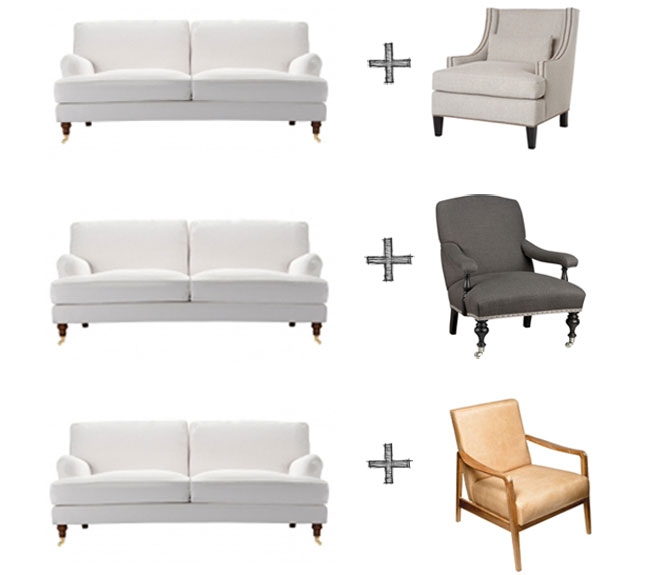 Our Favorite Chairs To Pair With The English Roll Arm Style Sofa Definitely Pertaining To Sofa Arm Chairs (View 18 of 20)