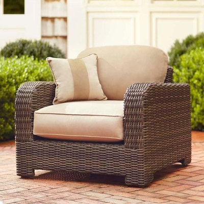 Outdoor Lounge Furniture For Patio The Home Depot well for Sofa Lounge Chairs (Image 14 of 20)