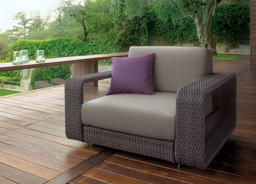 Outdoor Sofa Luxury Modern Rattan Barbados Luxury Patio effectively in Modern Rattan Sofas (Image 12 of 20)