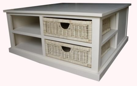Outsourcinc View Set definitely for Coffee Table With Wicker Basket Storage (Image 19 of 20)