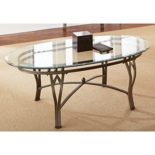 Oval Glass Coffee Table Amazon well throughout Oval Glass Coffee Tables (Image 17 of 20)